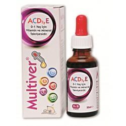 Multiver ACD3E Damla 30 ml