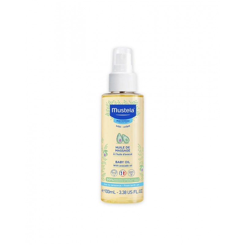 Mustela Baby Oil 100 ml (Bebek Yağı)