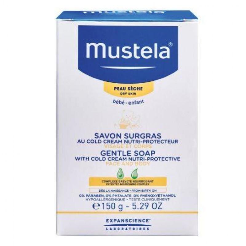 Mustela Cold Cream İçeren 150 gr Bebek Sabunu