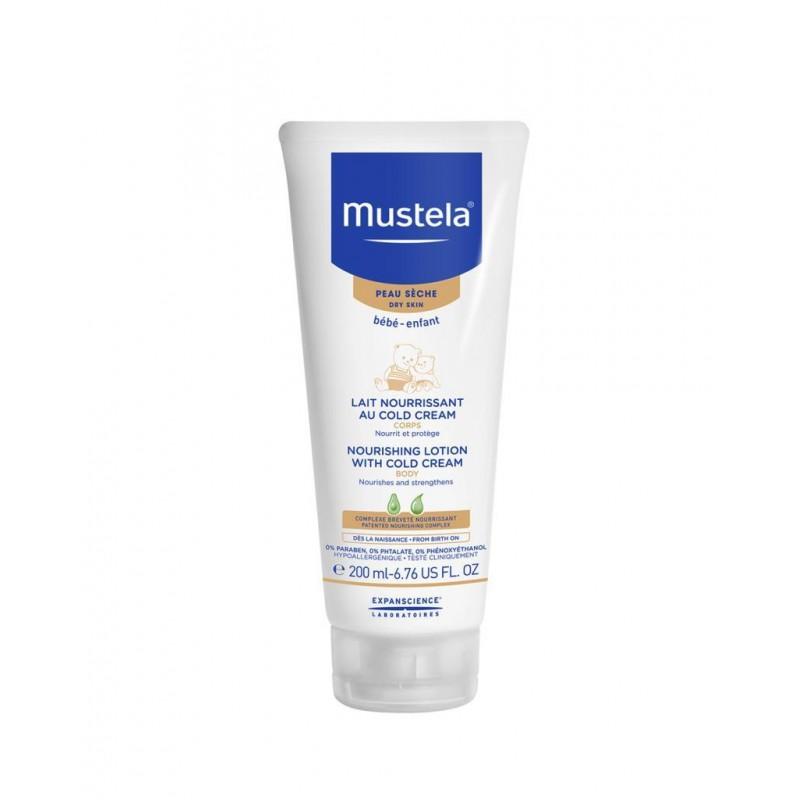 Mustela Cold Cream İçeren Besleyici Vücut Losyonu 200 ml
