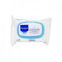 Mustela Facial Cleansing Cloths 25 Adet Yüz Temizleme Mendili