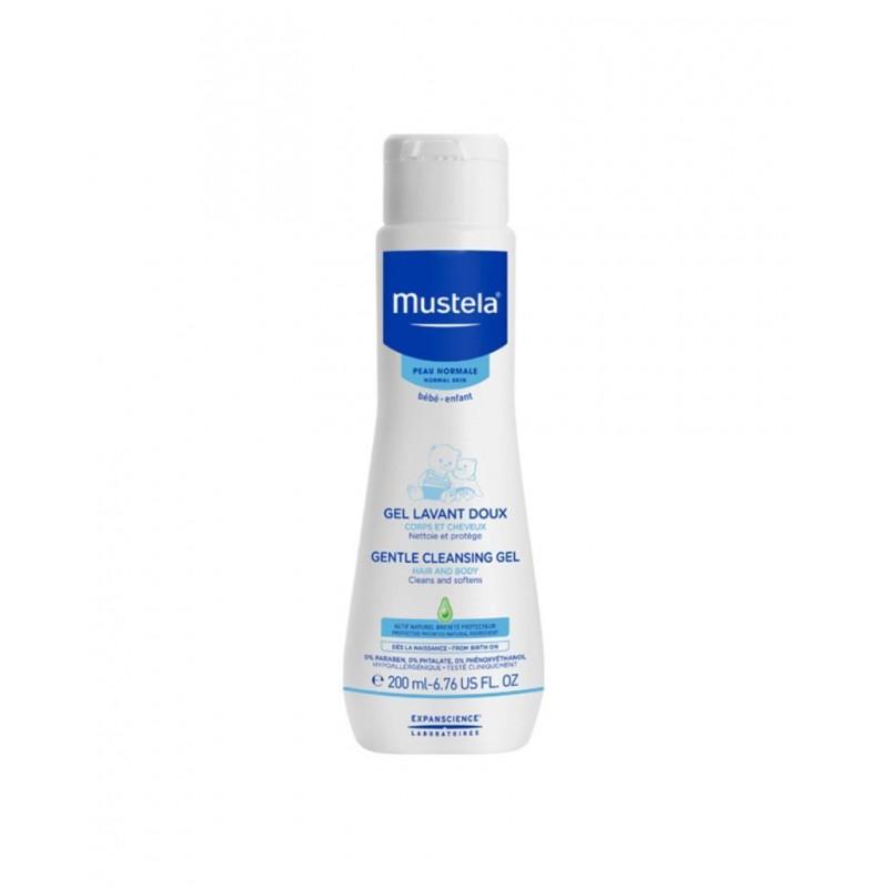 Mustela Gentle Cleansing Gel 200 ml (Yenidoğan Şampuanı)