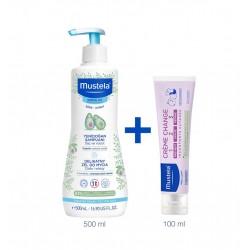 Mustela Gentle Yenidoğan Şampuanı 500 ml & Vitamin Barrier Pişik Kremi 100 ml