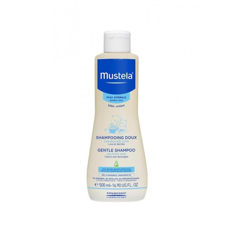 Mustela Gentle Shampoo 500 ml (Bebek Şampuanı)