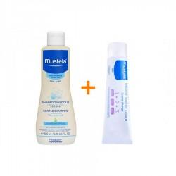 Mustela Gentle Shampoo 500 ml + Pişik Kremi 50 ml