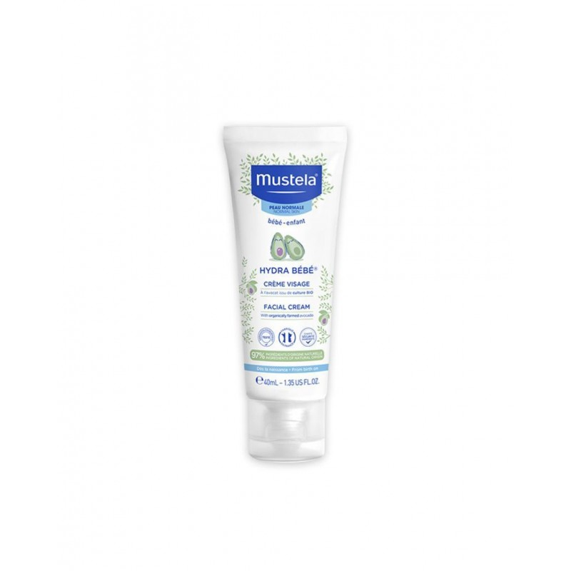 Mustela Hydra Bebe Face Cream 40 ml (Yüz Kremi)
