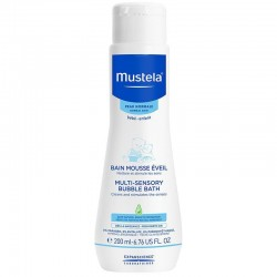 Mustela Multi Sensory Bubble Bath 200 ml (Banyo Köpüğü)