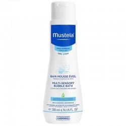 Mustela Multi Sensory Bubble Bath 200 ml (Banyo Köpüğü)