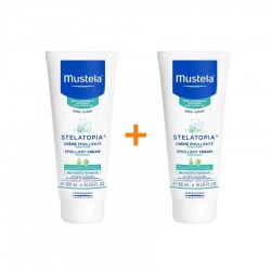 Mustela Stelatopia Emollient Cream 200 ml 2'li