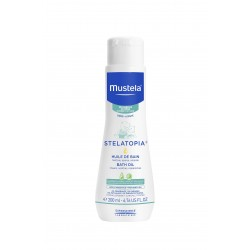Mustela Stelatopia Bath Oil 200 ml (Banyo Yağı)