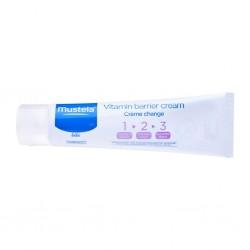 Mustela Vitamin Barrier Cream 1-2-3 50 ml (Pişik Kremi)