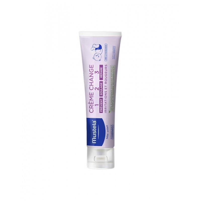 Mustela Vitamin Barrier Cream 1-2-3 100 ml (Pişik Kremi)