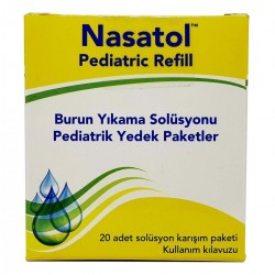 Nasatol Pediatrik Refill Pediatrik Yedek Paketler 20 Adet