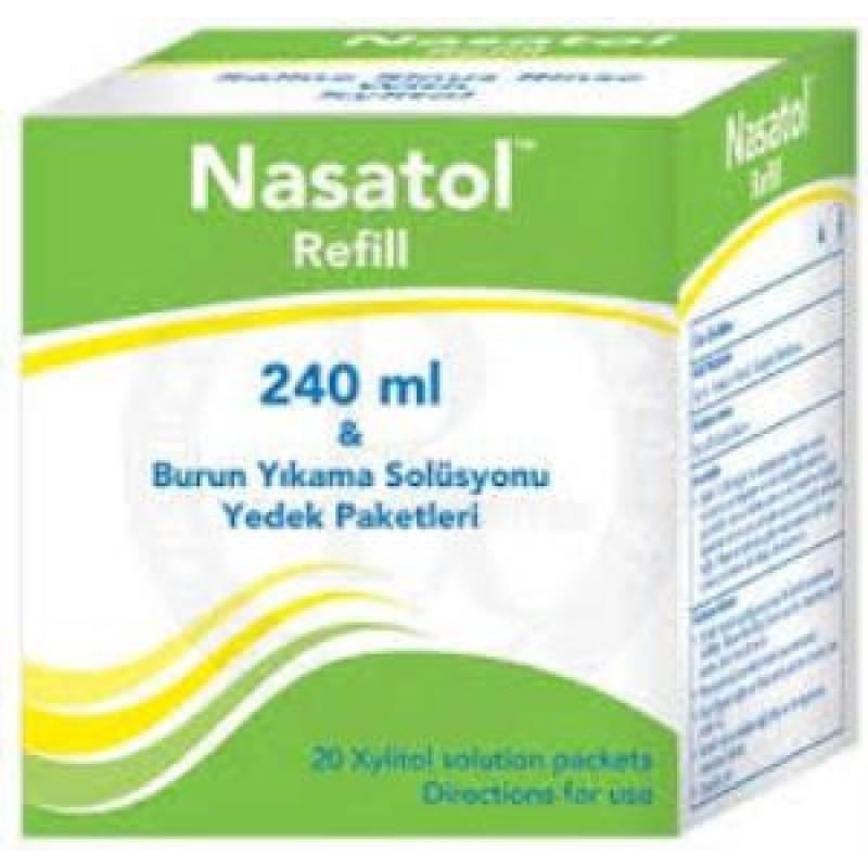 Nasatol Refill Burun Yıkama Solüsyonu Yedek Paketl