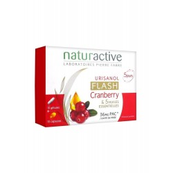 Naturactive Urisanol Flash ( Turna Yemişi ) Cranberry 10 Kapsül