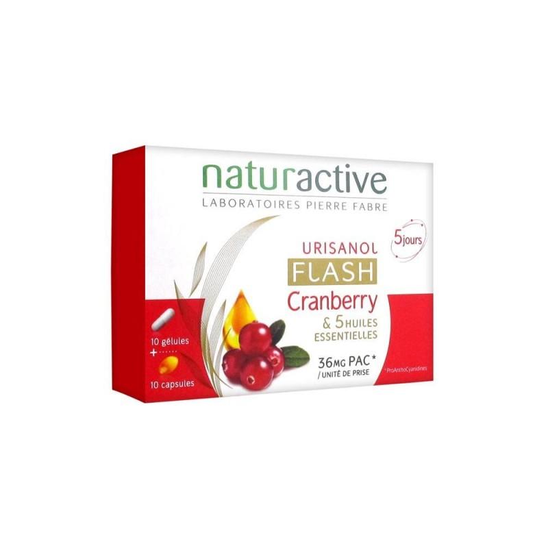 Naturactive Urisanol Flash ( Turna Yemişi ) Cranberry 10 Kapsül