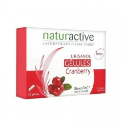 Naturactive Urisanol Flash (Turna Yemişi) Cranberry 30 Kapsül
