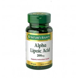 Nature's Bounty Alpha Lipoic Acid 200 mg 30 Kapsül