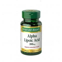 Nature's Bounty Alpha Lipoic Acid 200 mg 30 Kapsül