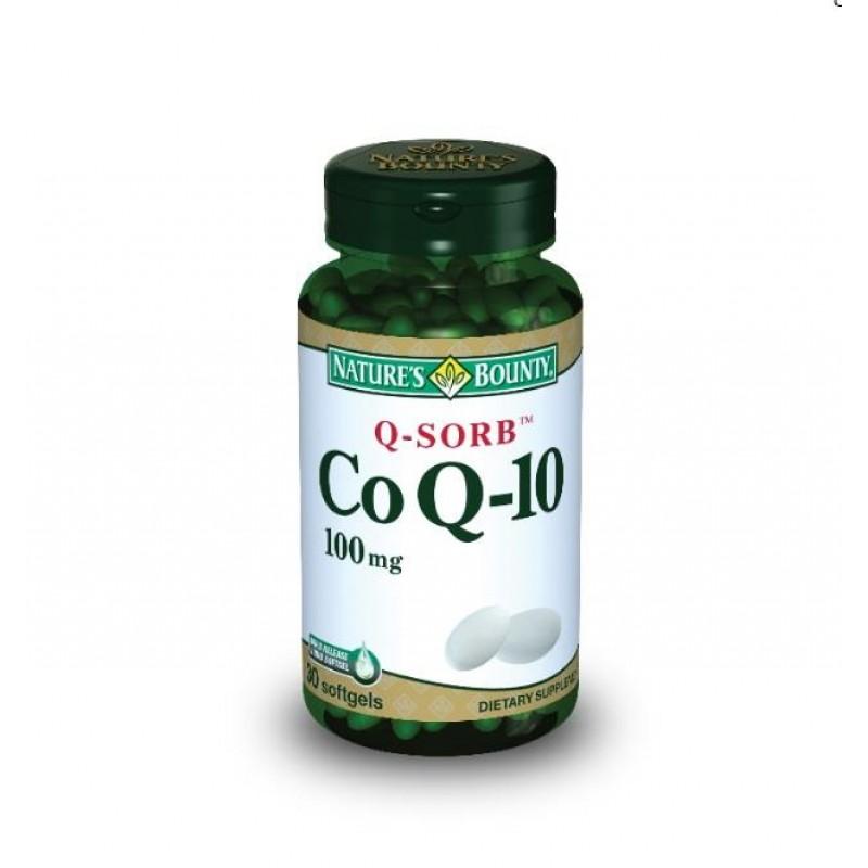 Nature's Bounty CoQ-10 100 mg 30 Softgels