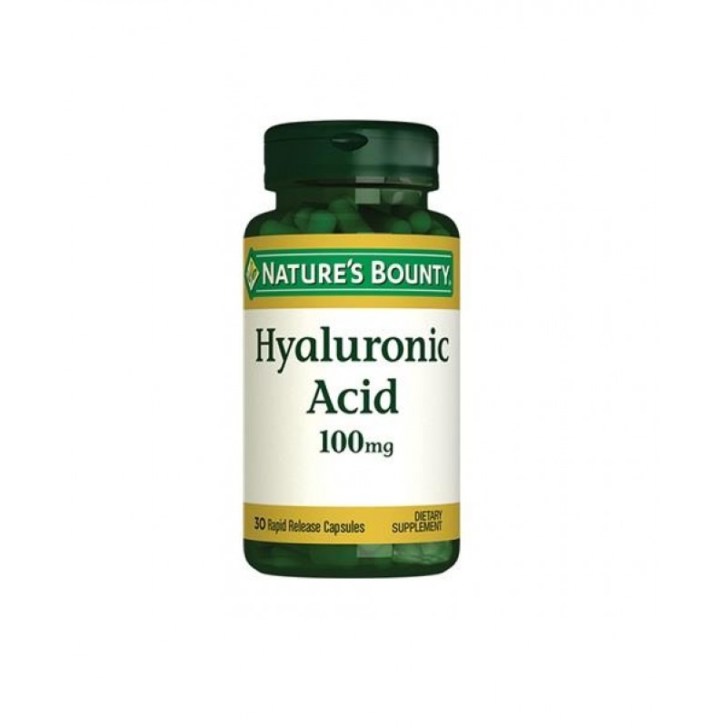 Nature's Bounty Hyaluronic Acid 100 mg 30 Kapsül