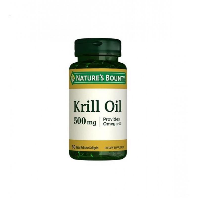 Nature's Bounty Krill Oil 500 mg 30 Softjels