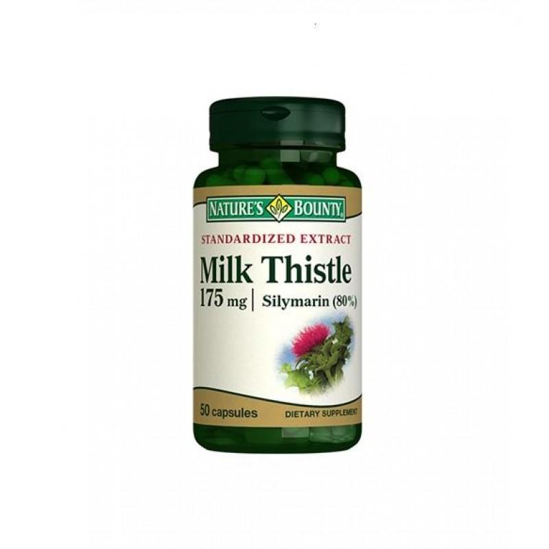 Nature's Bounty Milk Thistle 175 mg 50 Kapsül