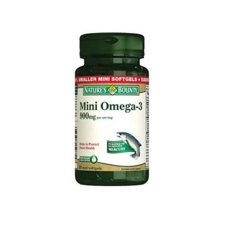 Nature's Bounty Mini Omega-3 900 mg 60 Softgel