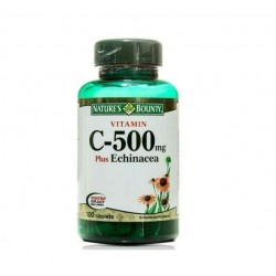Nature's Bounty Vitamin C 500 mg plus Echinacea 100 Kaplet