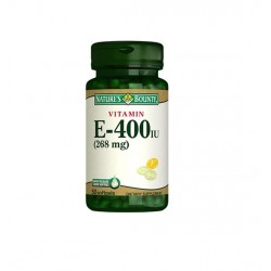 Nature's Bounty Vitamin E 400 IU 50 Softjels