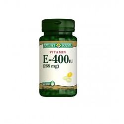 Nature's Bounty Vitamin E 400 IU 50 Softjels