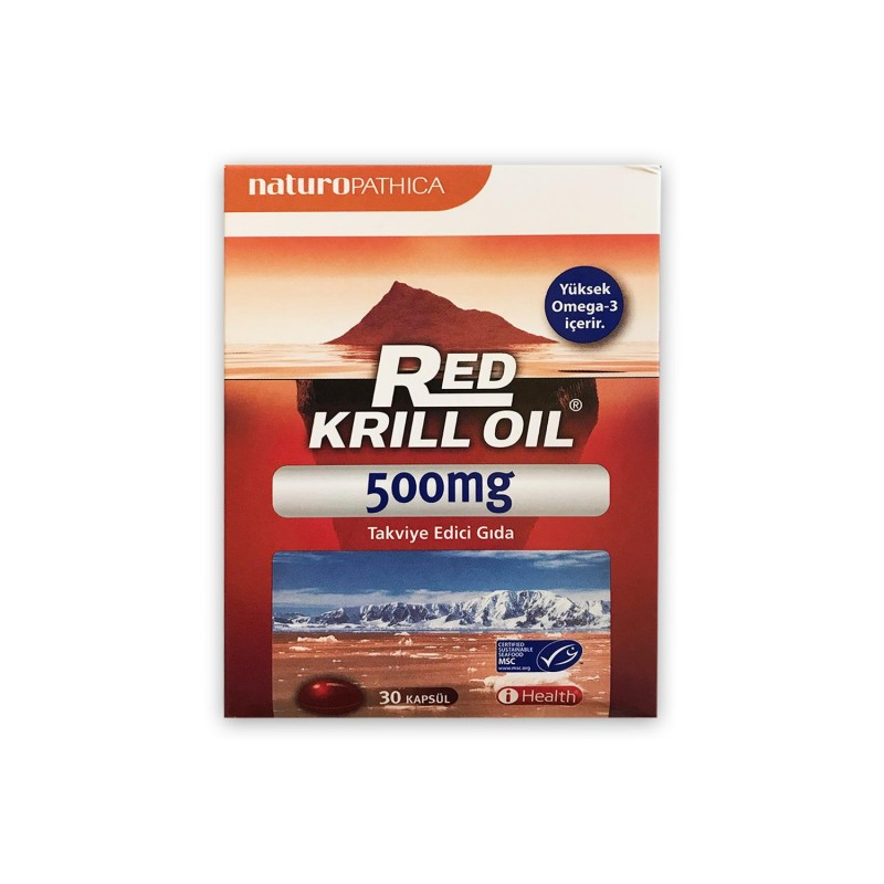 Naturopathica Red Krill Oil 500 mg 30 Kapsül