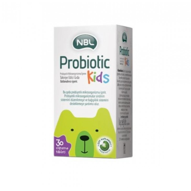 NBL Probiotic Kids 30 Çiğneme Tablet