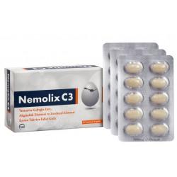 Nemolix C3 Yumurta Kabuğu Zarı 30 Kapsül