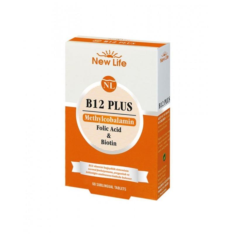 NewLife B12 Plus 60 Tablet