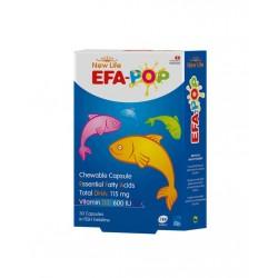 NewLife Efa-Pop Balık Yağı 30 Kapsül
