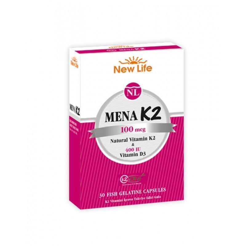 New_Life Mena K2 30 Kapsül