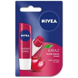 Nivea Fruity Shine Kiraz Lipstick 4,8 gr Dudak Bakımı