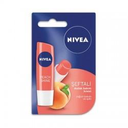 Nivea Fruity Shine Şeftali Lipstick 4,8 gr Dudak Bakımı