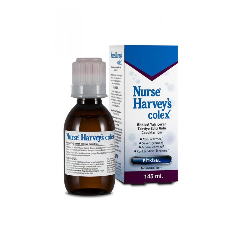 Nurse Harvey's Colex Gaz Giderici Bitkisel Şurup 145 ml