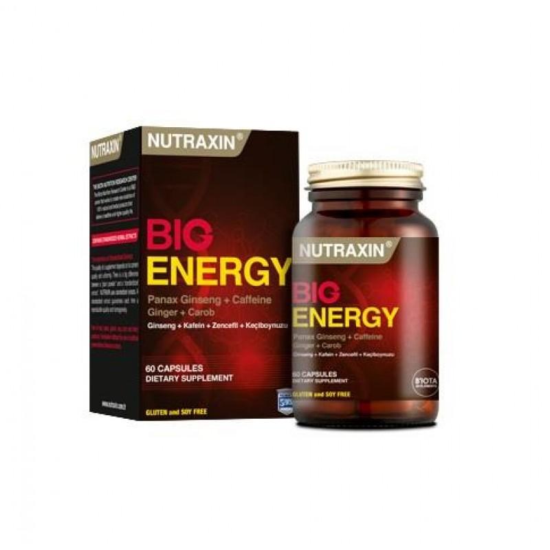 Nutraxin Big Energy 60 Kapsül