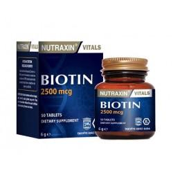 Nutraxin Biotin 2500 Mcg 50 Tb