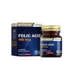 Nutraxin Folic Acid 100 Tablet