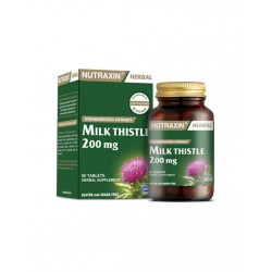 Nutraxin Milk Thistle 200 mg 60 Kapsül