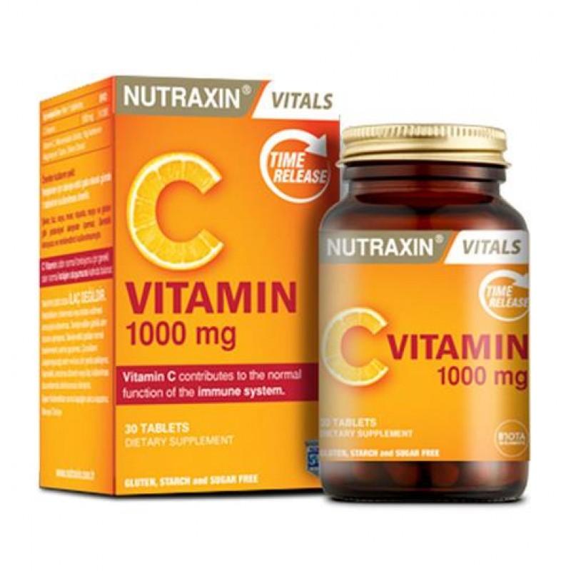 Nutraxin Vitamin C 1000 mg 30 Tablet