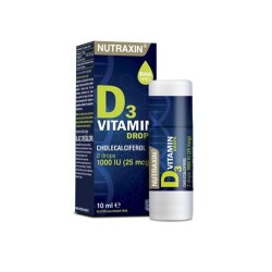 Nutraxin Vitamin D3 1000 IU 10 ml