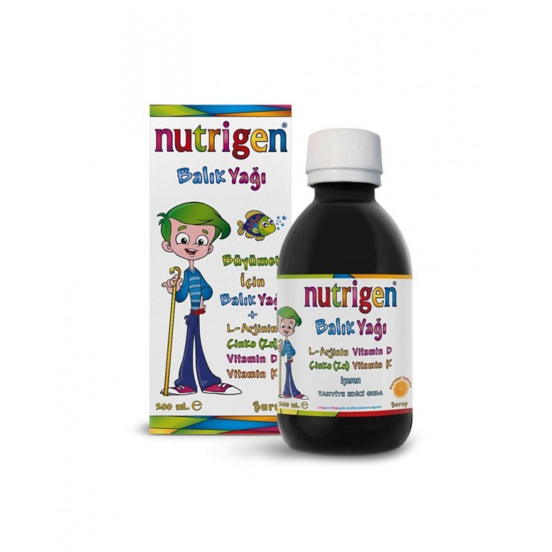 Nutrigen Balık Yağı 200 ml