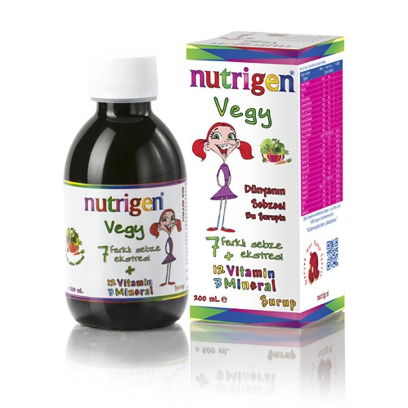 Nutrigen Vegy 200 ml Şurup