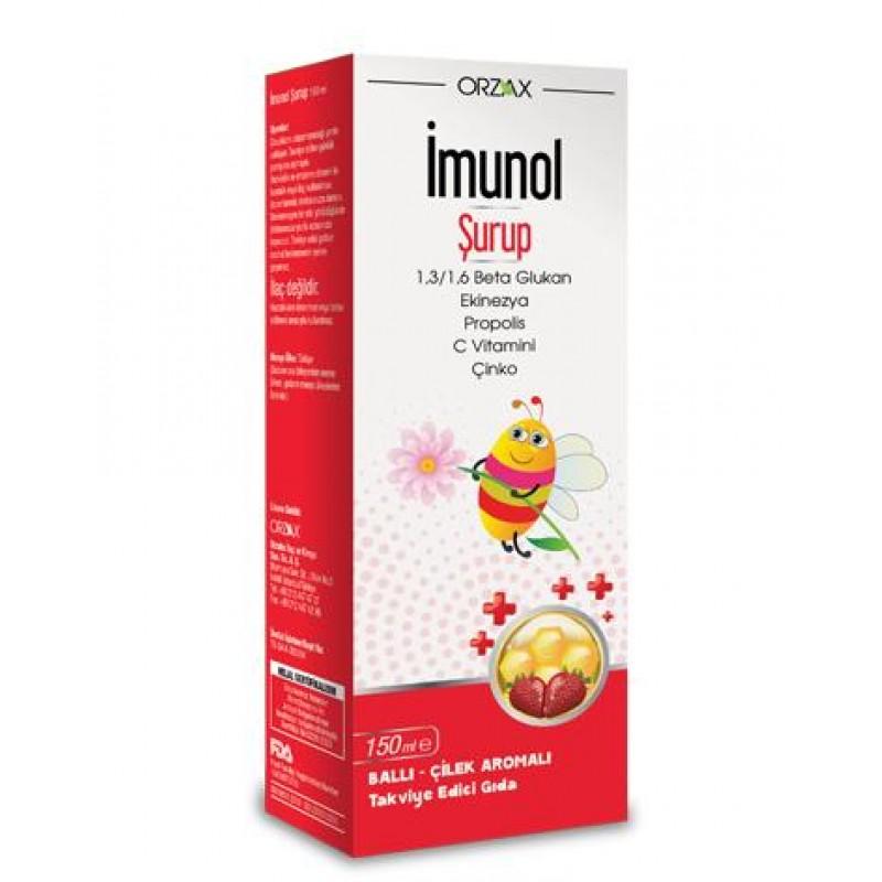 Orzax İmunol Şurup 150 ml