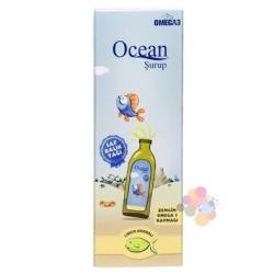 Ocean Limon Aromalı 150 ml Balık Yağı Şurubu